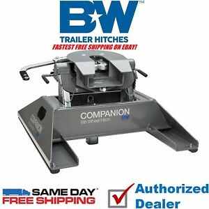 Rvk3500 B W Companion 5th Wheel Rv Gooseneck Hitch Adapter Fast Free Shipping