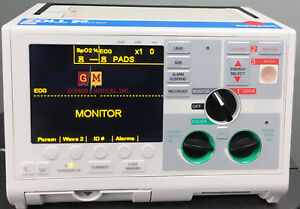 Zoll M Series Biphasic 200 Joules Max Defib Ecg Sp02 Aed Monitor Certified