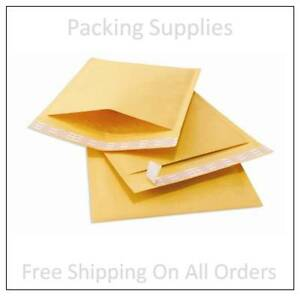500 0000 4x6 Small Self Seal Kraft Bubble Mailers Padded Envelopes 4 X 6