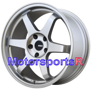 Miro 398 19 X 8 5 35 Silver Rims Wheels 5x120 Fits 05 06 17 18 Bmw 2 3 4 Series