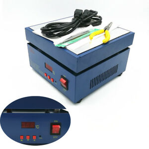Electronic Hot Plate Preheat Preheating Station 800w 200 200 20mm Led Display Ce
