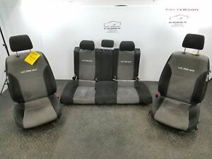 2008 Scion Tc Front Bucket Seats Rear Bench Seat Cloth Aw14