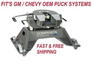 B W Hitches Rvk3700 Companion Oem 5th Wheel Rv Hitch For Gm Truck W Puck System
