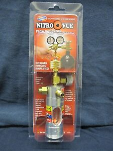 Uniweld nitro Vue Flow Indicator W 1 4 Flare Fittings Nv1