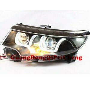 Hid Bi Xenon Projector And Led Drl Headlights For Ford Edge 2010 2014 New