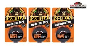Gorilla Mounting Tape Double sided 30lbs New