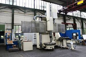 3150 49 Schiess froriep Model 16ds125 Cnc Vertical Boring Mill