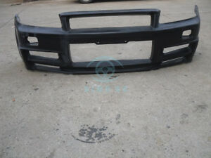 Auto Modified For Nissan Skyline R34 Gtt Frp Front Bumper Protection Bodykit
