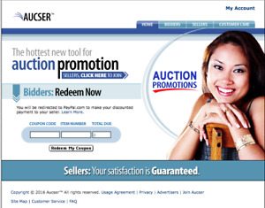 Website Niche Market Users Create Online Coupons For Buyers Sellers Aucser com