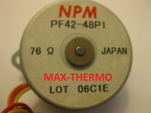 Npm Motor 12v Nippon Pulse Stepper Motor Pf42 48p1 76 Ohm phase