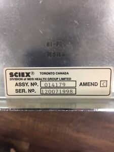 Pe Sciex Line Adjustment Power P n 014179 For Api 3000 Lc ms ms