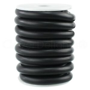 3 8 Solid Rubber Cord 100 Ft Buna 70 Durometer Black 375 Round O ring