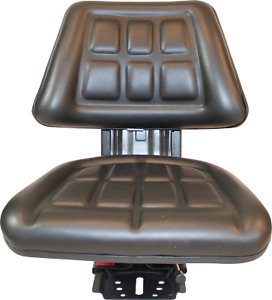 Black Ford new Holland 2310 2810 3010 Triback Universal Tractor Suspension Seat