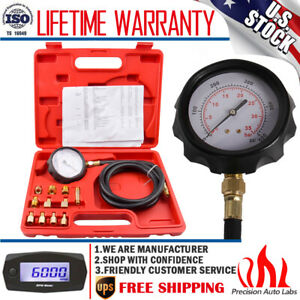 500psi Automatic Transmission Engine Oil Pressure Tester Gauge Diagnostic Test