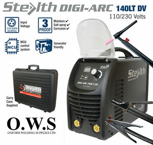 Swp Stealth Digi arc 140lt 140amp 110v 240v Dual Voltage Inverter Mma Tig Arc