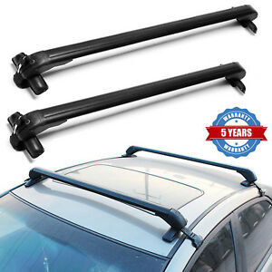 Universal Roof Rack Anti Theft Suitable For 4 Or 5 Door Cars Without Rail 43