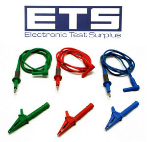 Ideal Test Lead Probe Alligator Clip Set