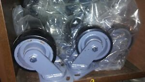 Heavy Duty Casters Set Of 4 Great For Heavy Metal Tables Or Shelves