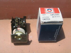63 64 65 66 67 68 76 Dodge Plymouth 1972306 Headlightswitch C 1502 Nos Delco