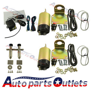 Easy Install 80 Lbs Popper System Door Popper Kit For 2 Door With 2 Remotes