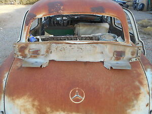 Mercedes Benz Ponton Front Valance W105 W180 W128 Sheet Metal Front Cover Plate