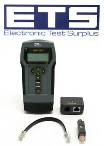 Ideal Navitek Network Cable Tester Set W Wiremap Remote