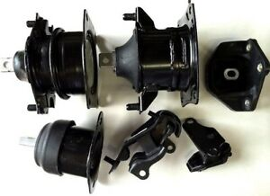 6pc Engine And Transmission Mount For 2003 2005 Honda Accord 3 0l Fast Shipping
