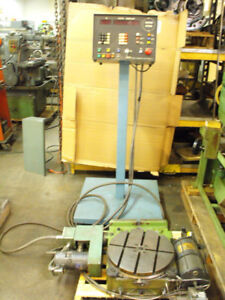 15 3 4 Walter rtw 400 Precision Rotary Table With J p Cnc Control Dro