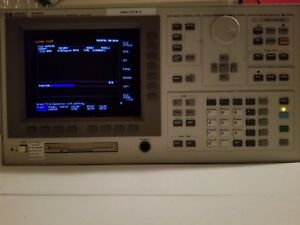 Agilent Hp 4156a Precision Semiconductor Parameter Analyzer