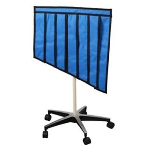 Graduated Portable X ray Shield Mobile Radiation Safety Shielding 35 50 1mm