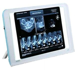 Dental X Ray Film Viewer Led Illuminator Wall Desk Mounting View Box Luna New