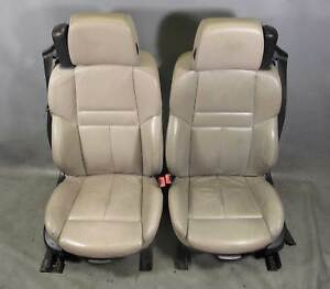 Bmw E64 M6 Convertible Factory Front Sports Seat Pair Bronze Leather Used Oem
