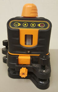 85615 Johnson 40 6502 Manual leveling Rotary Laser Level With Case