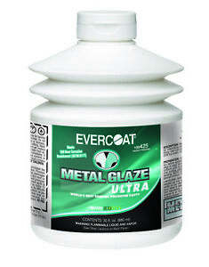Evercoat 425 Metal Glaze Ultra Finishing Putty Squeezable 30 Oz