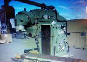 Combo Vertical Horizontal Mill Digital Readout 1984 Cme Super Mill Long Travel