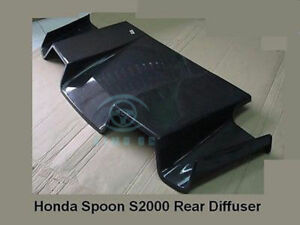 Auto Refit For Honda S2000 Civic Integra Dc2 Carbon Fiber Spoiler Rear Diffuser