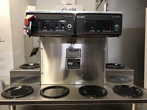 Bunn Cwtf Twin 0 6 Automatic Coffee Brewer Maker Machine W Faucet