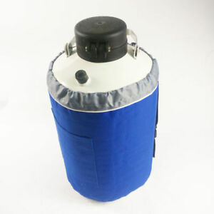 New Liquid Nitrogen Tank Cryogenic Container Ln2 Dewar lock Cover 6pcs Pails 3l