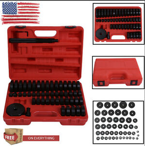 Bush Bearing Seal Driver Master Set Discs 51 Pcs Custom Built Hand Tool Kit