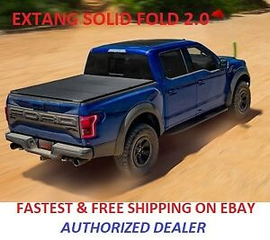 Extang 83350 Solid Fold 2 0 Tonneau Cover Fits 2015 19 Canyon Colorado 5ft Bed