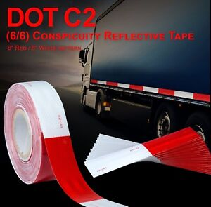 2 Dot c2 Approved Reflective Tape Class 2 Truck Trailer Camper Safety Tape