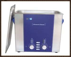 Derui Ultrasonic Cleaner Dr ds40 4l With Degas Sweep Parts Dental Hospital Clean