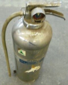 Bell Telephon System 2 1 2 Gallon Water Pressurized Fire Extinguisher E 10 St