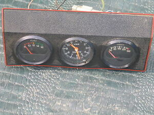Vdo Clock Vintage Center Dash Gauge Switch Panel 60 S E Type Mk Ii Smiths Lucas