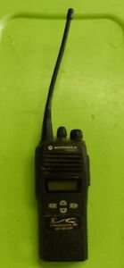 Motorola Cp200xls Two Way Radio Model Aah50rdf9aa5an Sticker On Front klm