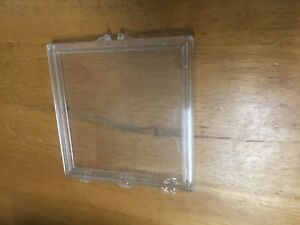 Square Silicon Wafer Box Up To 4 Inch By 4 Inch Lot Of 5