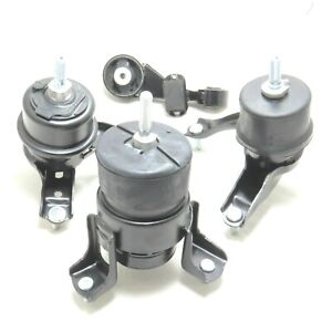 4pc Engine And Transmission Mount For 2010 2011 Toyota Camry 2 5l Fast Shipping