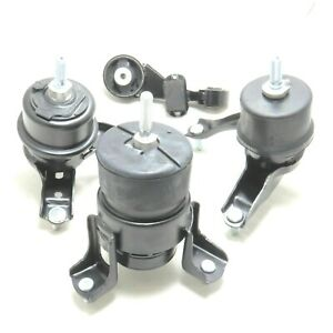 4pcs Engine And Transmission Mount For 2010 2011 Toyota Camry 2 5l Fast Shipping