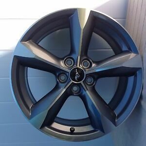 Ford Mustang 2015 2016 2017 Factory Oem Wheel 18 Rim 10029 Grey Free Cap