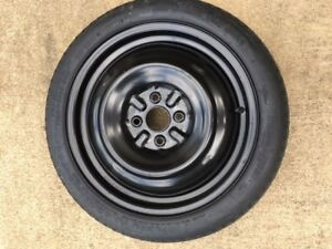 Prius Scion Corolla Compact Spare Wheel tire 125 70 16 4 Lug pick up Only